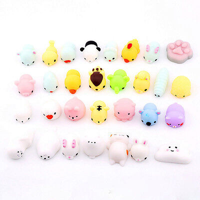10 PCS Random Squishy Lot Slow Rising fidget toy Kawaii Cute Animal Hand Toy