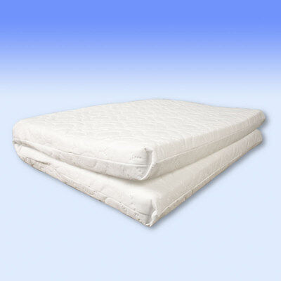 Safety Mattress sized 100 x 70 x 5 cm for travel cots - Custom Made - MADE IN UK