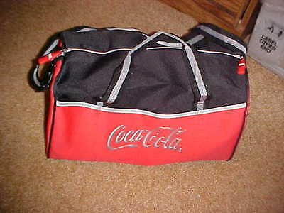 Coca Cola Gym Bag Duffel Bag - Red/Black - NWOT