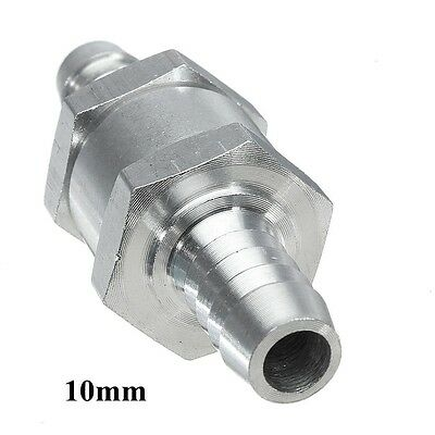 10mm 3/8'' Fuel Non-Return One Way Check Valve Petrol Diesel Oil Water Aluminum