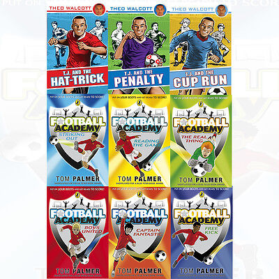 Football Academy Collection By Theo Walcott 9 Books Set The Real Thing New Pack