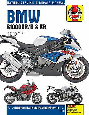 PRE-ORDER TITLE: Haynes Manual 6400 - BMW S1000RR, S1000R & S1000XR (10 - 17)