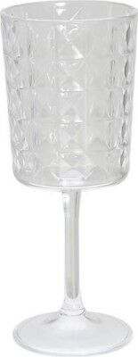 Quest Florence Premium Quality Break Resistant Acrylic Wine Glass in Clear