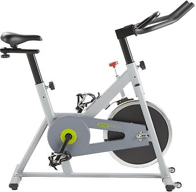 Tesco Aerobic Home Indoor Exercise Spin Bike with 10kg Flywheel - Grey