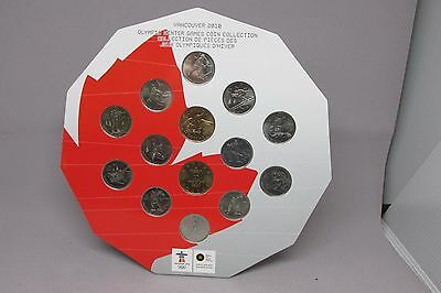 2010 Canada Vancouver Olympics Uncirculated Mint Coin Set