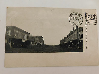 Post Card 1908 Main St Caldwell Ks