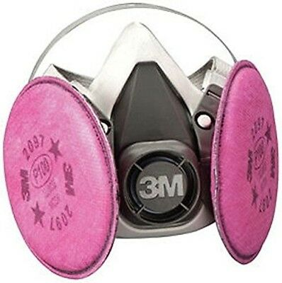3M 7182 Half Facepiece Respirator Mask for Welding, Medium