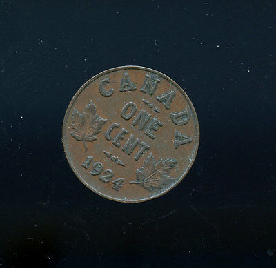 1924 Canada Key Date small cent VF B235