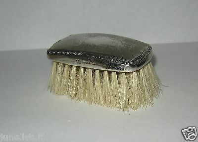 Vintage Saart Brothers Sterling Silver Baby / Child Brush No Monograms