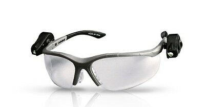 3M 11476 Light Vision 2 Safety Protective Glasses Clear Anti-Fog Lens