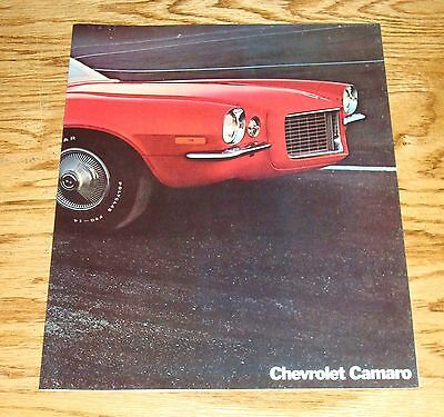 Original 1970 Chevrolet Camaro Facts Features Sales Sheet Brochure 70 Chevy