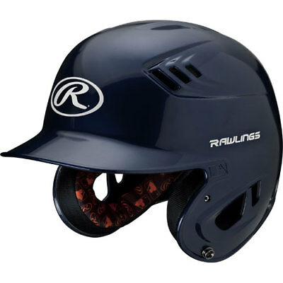 Rawlings R16 R16J-N Junior (6 3/8 - 7 1/8) Metallic Navy Batting Helmet