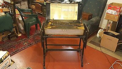 Antique THE MILLIONAIRE Calculating Machine w/Base #2459- Plus Smitsonian Letter
