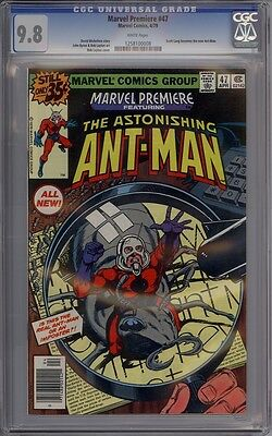 Marvel Premiere #47 - CGC Graded 9.8 - 1st New Ant-Man