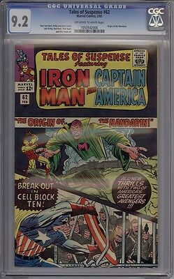 Tales Of Suspense #62 - CGC Graded 9.2 - Saginaw Collection