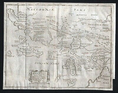 1680 - Greece Ionian Islands Kupferstich Cluver