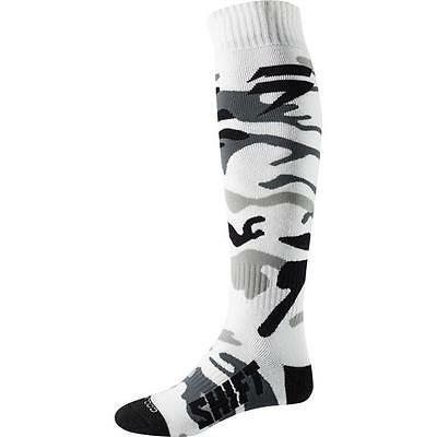 SHIFT MX WHIT3 WHITE LABEL Motocross Socken 2018 -  weiß - camo Motocross Enduro