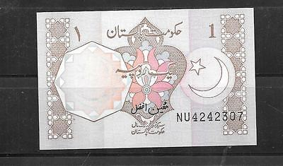 Pakistan #27N Unc Mint Old Rupee Banknote Paper Money Currency Bill Note