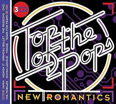 Top Of The Pops - New Romantics - Various Artists (NEW 3CD)