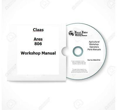 Claas Ares 806 Workshop Manual  Digital