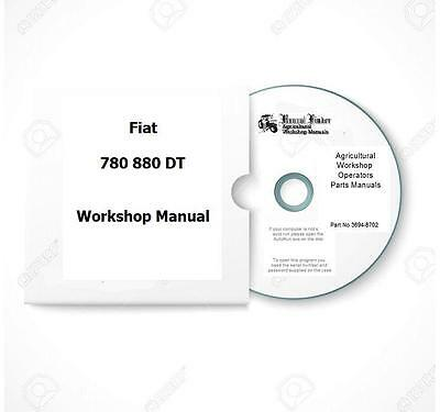 Fiat incl DT 780 880 Workshop  Manual Digital