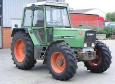 Fendt Farmer 303 304 307 305 306 308 309 Operators Manual Printed