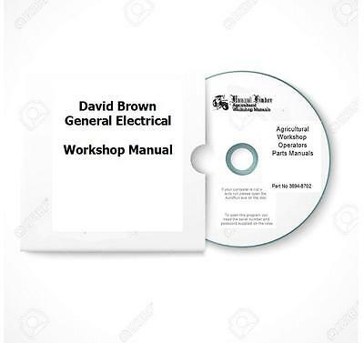 David Brown Electrical Repair Workshop Manual  Digital