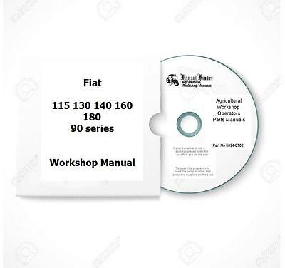 Fiat 90series inclturbo 115 130 140 160 180 Workshop  Manual  Digital