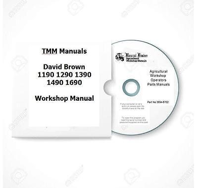 David BrownTMM 1190 to 1690 models Workshop  Manual  Digital
