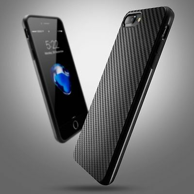 Luxury Carbon Fiber Soft TPU Silicone Thin Case Cover for iPhone XS X 8 7 6s 6