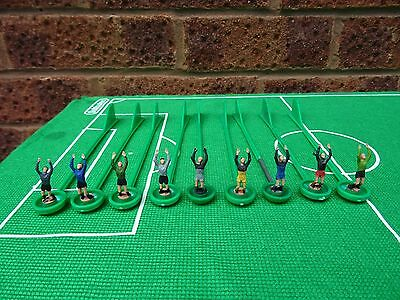 + 9 x Spare Subbuteo Lightweight Goalkeepers - WORTH A L@@K  +