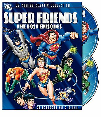 Super Friends: The Lost Episodes (DVD, 2-Disc Set) - Brand New!!