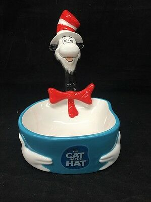Hershey's Dr. Seuss The Cat in the Hat Candy Dish Bowl 2003 Official Movie Merch