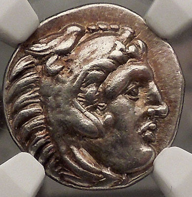 PHILIP III - Alexander the Great Brother Silver Greek NGC Certified Coin i57430