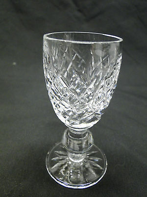 Waterford Donegal Cordial Glasses 3 1/4in Clear Cut Crystal