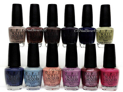 OPI Nail Lacquer - ICELAND Fall 2017 Collection - Pick Any color .5oz