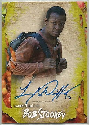 Walking Dead Survival Box ~ LAWRENCE GILLIARD JR Infected Autograph Card #78/99