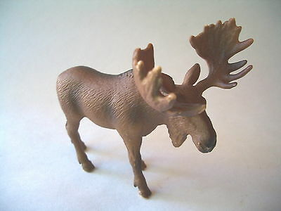 Moose Figurine By Schleich Germany
