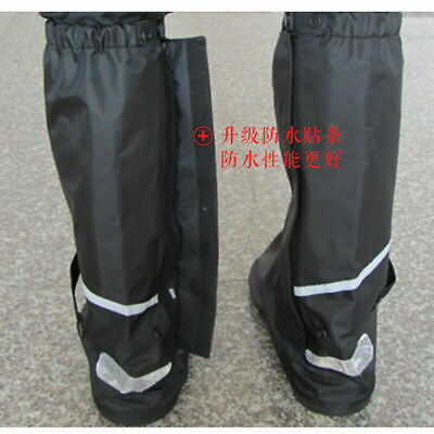 Waterproof Shoe Guard Rain Boot Cover Anti-slip Reflective Motorbike Motorcycle