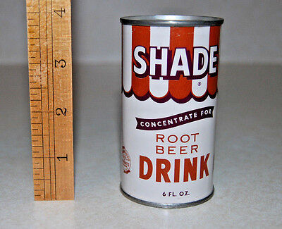 Shade Concentrate for ROOT BEER drink tin COIN BANK