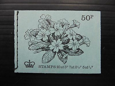 GB 1971 May 50p Machin Booklet DT2 NB2246