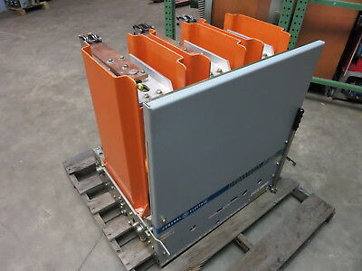 GE Power/Vac 1200A VB 13.8-500-1 15 kV Vacuum Breaker General Electric PowerVac