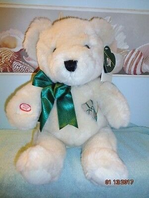 "Vintage 1999 KIDS OF AMERICA HUNTER'S HOPE Sings Heart Beats 18"" Plush Bear"