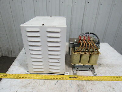 Indramat KD27-D Transformer W/Cover IN:45A IS: 135A LN: 3x0,7mH Ls: 3x0,55mH 50H