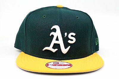 Oakland Athletics A s Dark Green Argent Gold White New Era 9Fifty Snapback  Hat 24ad4f60d1a9