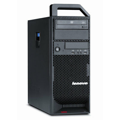 Lenovo ThinkStation S20 Workstation Xeon 4x 2,66 GHz 8 GB RAM 500 GB HDD Win 10