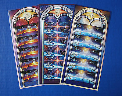United Nations - 1992 Mission to Planet Earth MNH sheet set