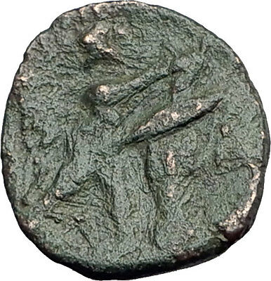Antigonos II Gonatas 274BC Macedonia Ancient Greek Coin ATHENA PAN TROPHY i62786