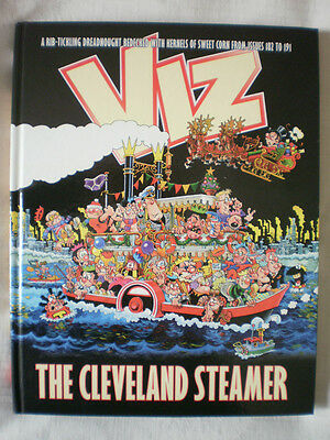 VIZ ANNUAL -THE CLEVELAND STEAMER -Best of issues 182-191.