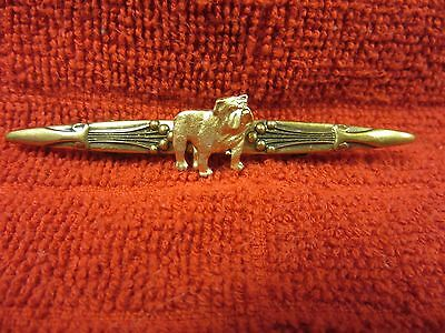 Beautiful Antique Brooch With New English Bulldog-Number One Of Two